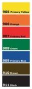 Color Concentrate Dye - Complete Set
