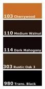 Touch-Up Dye Ultra-Fine Graining Pen - Wood Tone Assortment 5