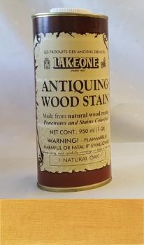 Antiquing Wood Stain - Natural (Light) Oak