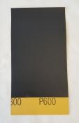 Hand Sandpaper - 3M Wet/Dry Sandpaper - 600 grit