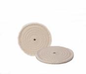 "Buffing Wheels - Spiral Cotton 8"""